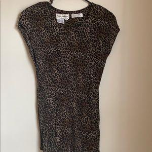 Cheetah blouse karin stevens